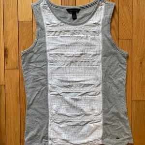Tommy Hilfiger Gray Tank with Lace